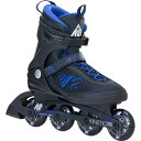 【送料無料】ケーツー(K2) メンズ インラインスケート KINETIC 78 キネティック 78 ブラック/ブルー I160204701 【ローラースケート ...