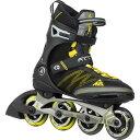 ケーツー K2 F.I.T X PRO メンズ インラインスケート ガンメタル/イエロー I150201201
