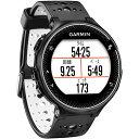 ガーミン GARMIN ランニングウォッチ GPS ForeAthlete230J フォアアスリート230J ブラック×ホワイト 日本正規品 371787