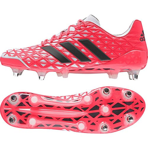 【送料無料】アディダス(adidas) カカリライト SG レッド/ブラック/ホワイト KDW02 AQ2044 【ラグビー スパイク フットウェア】【P10】