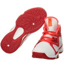 アディダス(adidas) アディゼロ adizero PG K ホワイト/シルバー/レッド GUF21 B39043 【バスケットボール シューズ NBA フ...