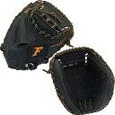 ファルコン (FALCON) 少年軟式キャッチャーミットLH(右投げ) CM-4041 ブラック M 【野球 少年軟式用 グローブ】