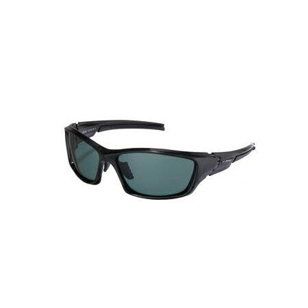 アックス AXE POLARIZED STYLE スポーツサングラス 偏光レンズ BK/シャイニーブラック ASP-450