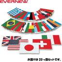 エバニュー EVERNEW 万国旗 20 EKA381