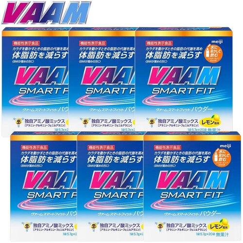 明治 ヴァーム VAAM ヴァームウォーターパウダー30袋 5.5g/1袋 6箱セット 180袋 2650729×6