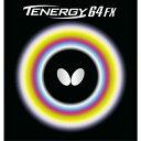 【送料無料】バタフライ Butterfly テナジー 64 FX ブラック 05920 278 【 卓球ラバー 裏ソフト 】