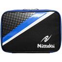 ニッタク(Nittaku) ポルカケース ブルー NT NK7208 09 【卓球 ケース 収納 ラケットケース 卓球ラケットケース】