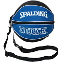 スポルディング SPALDING バスケ ボールバッグ DUKE ホワイト×ネイビー 49-001DK