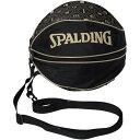 スポルディング SPALDING バスケ ボールバッグ MONOGRAM ブラック×ゴールド 49-001MG