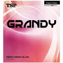ティーエスピー TSP 卓球 ラバー 裏ソフト グランディ 20026 レッド 赤 メンズ レディース ジュニア
