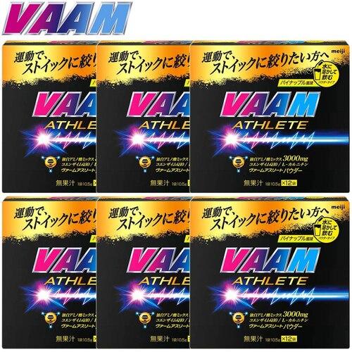 明治 ヴァーム VAAM スーパーヴァームパウダー12袋 10.5g/1P 6箱セット 72袋 2650708×6