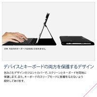ESRMicrosoftSurfacePro3ケース手帳型、SurfacePro3カバー12インチ横開きPUレザーケース・PCかバーハンドル付きクッションスリーブ(MicrosoftChina指定ブランド)インテリジェントシリーズ