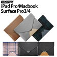 iPad ProケースMacBookケース12インチSurface Pro3 カバーSurface Pro4 カバー多機種対応iPadケースバックスリーブ ケースレザースリーブケース[ピッタリフィット] [軽量] 12インチタブレットケースバックスリーブメッセンジャーシリーズESRブランド