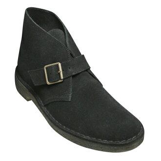 [Clarks] cowhide suede side Monk boots DESERT MONK( dessert Monk), 610C (Brach's aide) .20341424