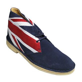 Popular basic goods desert boots, DESERT BOOT, 480C (navy) of Clarks .20332537