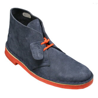 Representative model desert boots DESERT BOOT6 (desert boots 6), 957C (navy) of [Clarks (kulaki)] 20353845 [easy ギフ _ packing]