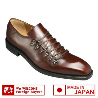 [REGAL (Regal)] race up shoes, 05AR (dark brown) of the mountain type of the calf use made in Italy [easy ギフ _ packing]