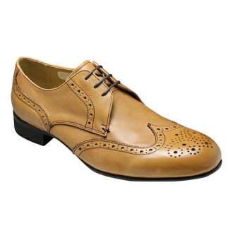 In the wide range of 3 E-3.5 cm leg length dress shoes wing tip 355 H (camel ) fs3gm