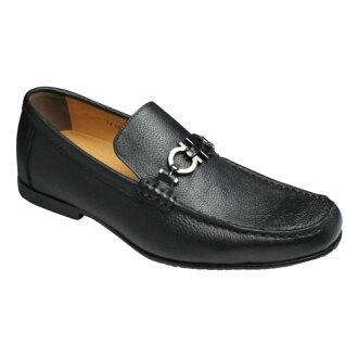 Popular bit leather slip-on (moccasins) and VT5667 (black)