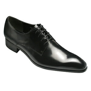 Legendary man with long legs dress shoes (plane toe), PMD2901 (black) fs3gm of cowhide glass finish, the long nose
