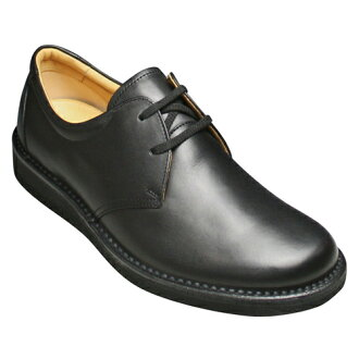 [REGAL WALKER( Regal Walker] 2 】 3E (wide) cowhide walking shoes (plane toe) eyelet, 122w (black) [easy ギフ _ packing]