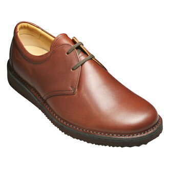 [REGAL WALKER( Regal Walker] 2 】 3E (wide) cowhide walking shoes (plane toe) eyelet, 122w (dark brown) [easy ギフ _ packing]
