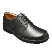 【REGAL WALKER (リーガル ウォーカー )】快適歩行の機能満載!3E幅広のビジネスウォーキングシューズ・JJ23(プレーントゥ)・ブラック/メンズ 靴