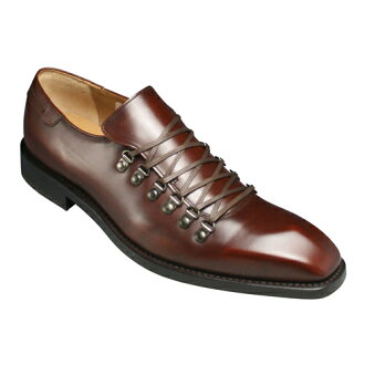 Lace-up shoes made in Italy calf mountain type 05 AR (dark brown)