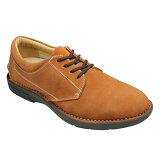 【REGAL WALKER(リーガル ウォーカー)】快快適な履き心地のカジュアルシューズ(プレーントゥ)3Eの幅広・175W(オレンジスエード)/メンズ 靴
