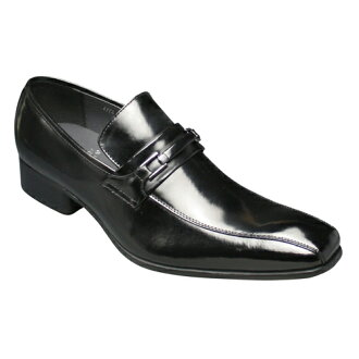 [SARABANDE (sarabande)] European elegance drifting cowhide long nose business shoes (bit), SB7772 (black) [easy ギフ _ packing]