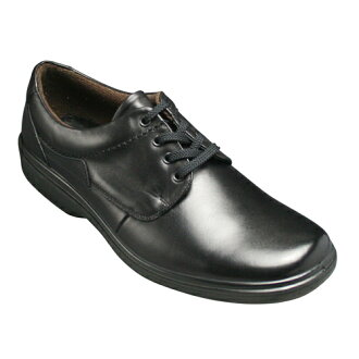 Waterproof leather ビジネスウォー walking shoes, 4 E ( wide ) ( plant ) fs3gm SP6751 (black )