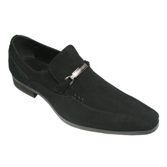 Long nose leather bitsrippon / TR13053 (Black Suede)