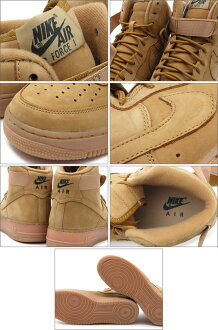 NIKE(�ʥ���)AIRFORCE1HIGH'07LV8806403-200FLAX/FLAX-OUTDOORGREEN591-001958-296
