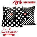 ショッピングクッションカバー クックマン Cookman Cushion Pocket Cover Dots & Big Dots クッション カバー ドット BLACK ブラック 黒