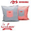 ショッピングクッションカバー クックマン Cookman Cushion Pocket Cover Gingham Red & Navy クッション カバー ギンガム MULTI マルチ