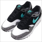 NIKE(ナイキ) AIR MAX 1 PREMIUM RETRO (アトモス)(エアマックス)(スニーカー) MEDIUM GREY/CLEAR JADE-BLACK 908366-001 291-002209-292
