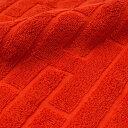 HERMES (エルメス) LABYRINTHE HAND TOWEL (ハンドタオル) ORANGE 290-004343-038