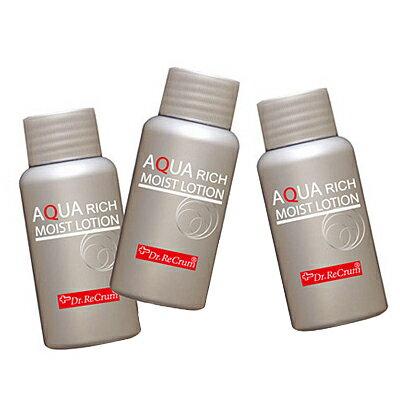 【送料無料】 ドクターレクラム アクアリッチモイストローション 60mL×3本入り / ゲル化粧水 / 完全無添加化粧品 / 白金ナノゴロイド配合