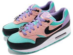 NIKE AIR MAX1 NK DAY GSナイキ エア マックス 1 NK DAY GSSPACE PURPLE/BLACK-BLEACHED CORAL
