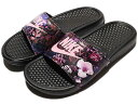 NIKE BENASSI JUST DO IT PRINT WOMEN'S SLIDEBlack/Prism Pinkナイキ ベナッシ ジャ
