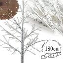 RoomClip商品情報 - 白樺 シラカバ ツリー クリスマスツリー 180cm 北欧 おしゃれ ウェルカムツリー ハロウィン ヌードツリー シラカバツリー 白樺ツリー led ライト cm18a