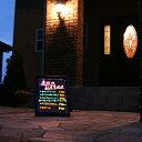 【送料無料】光る看板、光るウェルカムボード【発光フロアボード】
