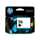 【HP純正インク】プリントカートリッジ 黒 ラージサイズ hp56 C6656AA