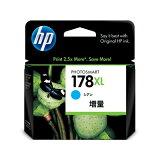【期間限定価格】【HP純正インク】プリントカートリッジ HP178XL シアン 増量 CB323HJ【05P15Feb15】