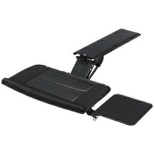 木天板に後付けでき、角度・高さ可変のエルゴノミクスキーボードスライダー(受け台・マウステーブル付き) CR-KB2 サンワサプライ【送料無料】