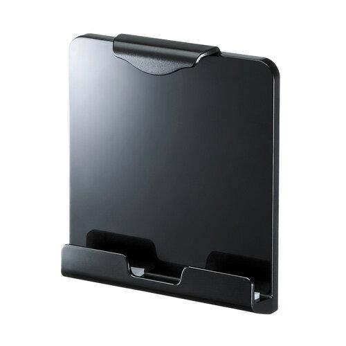 【訳あり 新品】iPad・タブレット用取付けホルダー(9〜12インチ対応・VESA) CR-LATAB20BK サンワサプライ ※箱にキズ、汚れあり