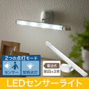 LEDセンサーライト(室内・屋内・人感・電池式・乾電池・スティック・壁面・廊下・玄関・キッチン・照明・感知) EEX-LEDSR07A【05P03Dec16】
