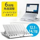 ノートパソコンスタンド(エルゴノミクス・角度調整・姿勢・ノートパソコン台) EZ1-CR011