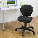 【予約】シンプルで安価なオフィスチェア(ブラック) EED-SNC025BK【送料無料】