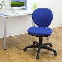 シンプルで安価なオフィスチェア(ブルー) EED-SNC025BL【送料無料】